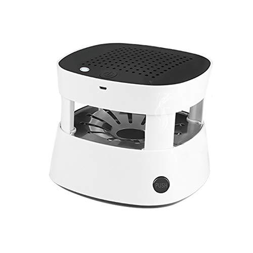 Imagen del producto Bora 3 en 1 Multifuncional Cenicero Sin Humo Ceniceros Portátiles Filtrar USB Recargable para Coche/Interior/Exterior Proteger la Salud Familiar (Blanco)