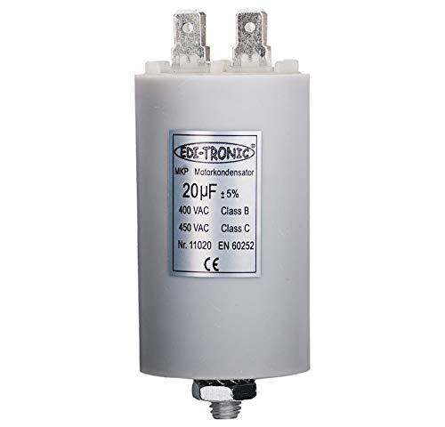 Kondensator Anlaufkondensator Motorkondensator Arbeitskondensator MKP 20µF 450V