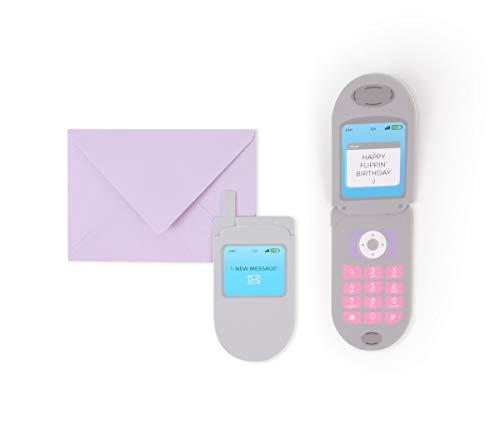 UWP LUXE Geburtstag Pop UP 3D Karte Handy Mini 10x8cm