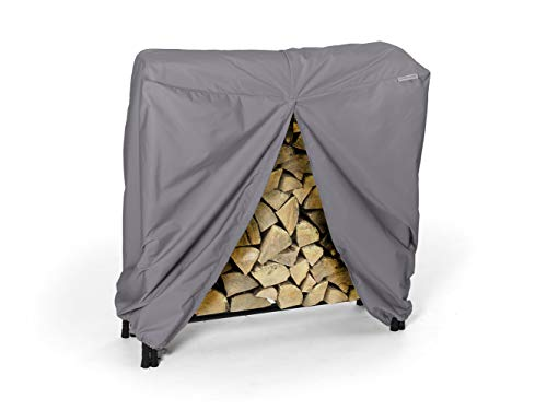 Fantastic Deal! Covermates – Log Rack Cover – 8 FT - 98W x 24D x 44H – Elite – 300D Poly - D...