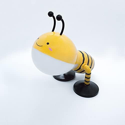 Spree-light - Nachttischlampe für Kinder Mädchen und Jungen mit LED Lampe dimmbar mit 5 Stufen - tragbares Nachtlicht mit Akku und Touch Funktion - Tischlampe in Bienenform geprüfte Lampen Leuchten