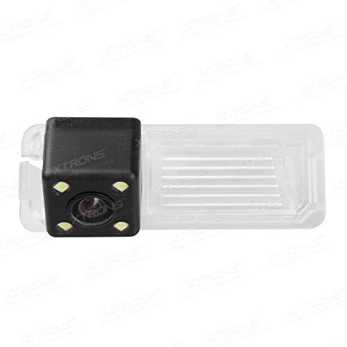 XTRONS Rückfahrkamera 160° HD Einparkshilfe wasserdicht LED Nachtsicht speziell für Volkswagen Golf VI