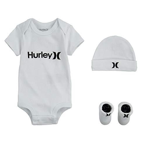 Hurley Baby Boys' Bodysuit Box Set