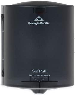 Georgia Pacific 58204 Center Pull Hand Towel Dispenser, 9 1/4w x 8 3/4d x 11 1/2h, Smoke