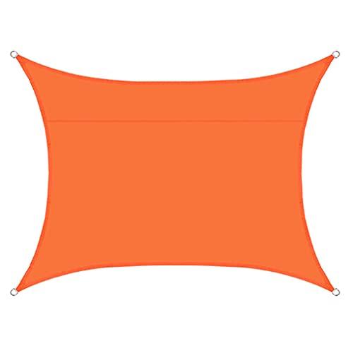 WSZS Sombrillas Resistentes A Prueba De Agua, 98% UV Bloqueo De Toldos con 4 Cuerdas Gratis para Patio Al Aire Libre Jardín De Jardinería Decking Party,O,3x3m