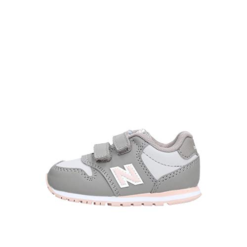 New Balance KV500 PGI Zapatos de bebé de Color Rosa Gris Sneak Sneak 26