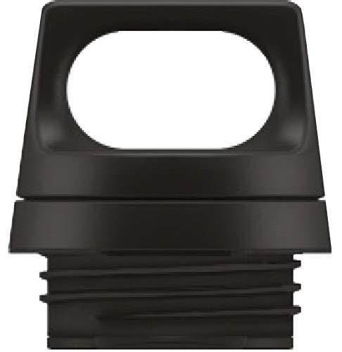 SIGG Hot & Cold Top Black Verschluss (0.3 & 0.5 L), Ersatzteil für SIGG Thermosflasche Hot & Cold, auslaufsicherer und tragbarer Verschluss