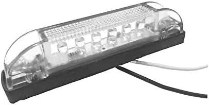 2PCS 6LED Truck Trailer lowest price Amber Light Cheap sale Front Rear Side Marker LED L