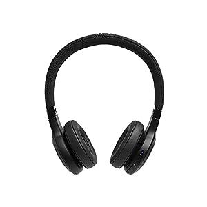 JBL Live 400BT On-Ear Wireless Headphones - Black