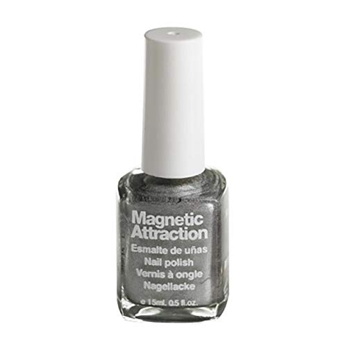 Sabrina Magnetische nagellak, zilverkleurig, 680 per stuk verpakt (1 x 15 ml)