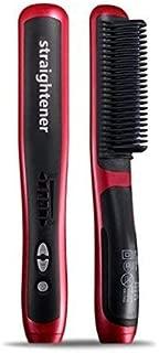 Hair Straightener Brush Fast Detangling Electric Comb, Ceramic Heating Anti-Static Anti-Scald Comb