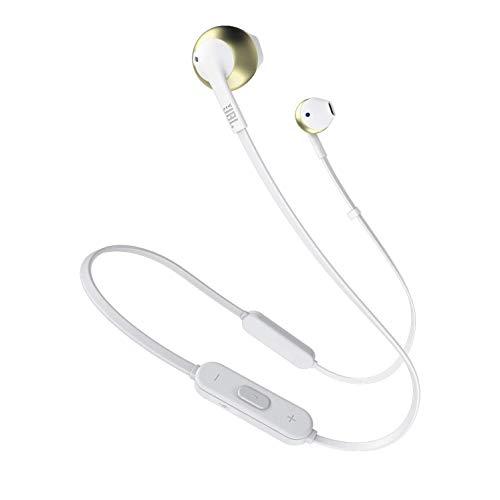 JBL Tune 205BT auricolare per telefono cellulare Stereofonico Champagne