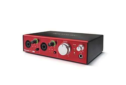 Focusrite - Interfaz de audio Pre USB Clarett con 10 entradas y...