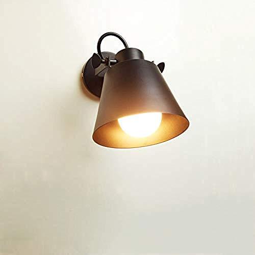 Beleuchtung,wandleuchte Retro Eisen Wandlampe verstellbare Dachboden Wandtattoos Halle Veranda Treppen Flur Balkon Licht Kaffee Dekoratives Licht