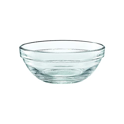 DURALEX Lys-Ciotola, 10,5 cm, impilabile, Confezione da 6