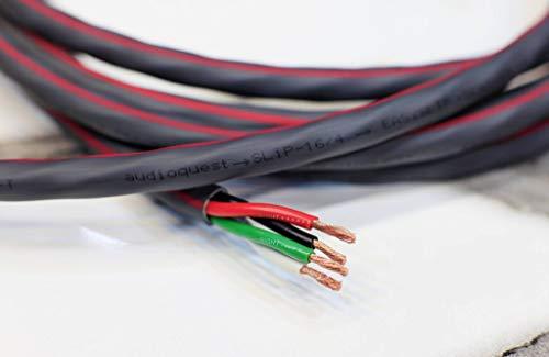 Audioquest SLIP 16/4 cavo audio in Rame LGC Sezione conduttori 4x1.31mmq **PREZZO RIFERITO A METRO LINEARE DI CAVO**