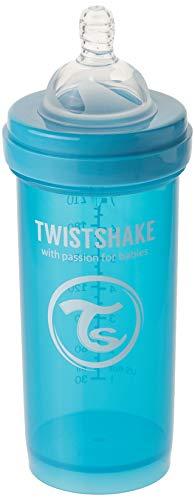 Twistshake 78008 Anti-Colic Babyflasche, 260 ml/9 oz, blau