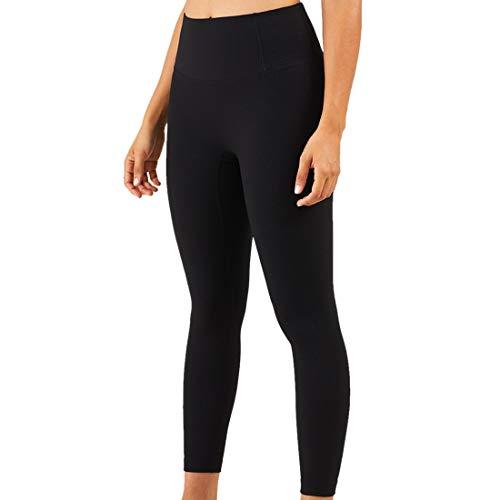 Vita Alta Donna Sollevamento dell'anca Pantaloni Yoga Leggings Traspirante Alta Elasticità Pantaloni Fitness Senza Cuciture Pantaloni Casual Comodi Sportivi Moda Fitness Jogging Streetwear M
