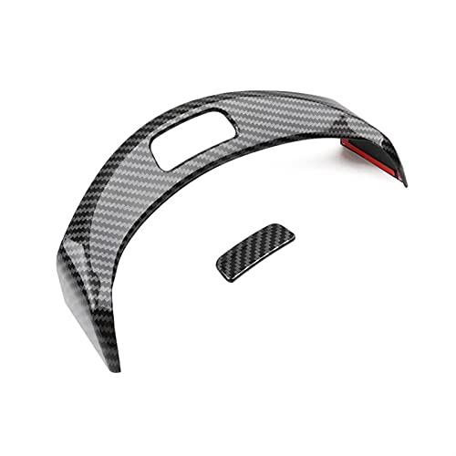 Tira Interior Coche Consola Central Coche Apoyabrazos Caja Botones Marco Decoración Pegatina Embellecedor Para Mercedes Para Benz Clase C W205 GLC X253 2015 2016 2017 2018 2019 2020 Coche Accesorios D