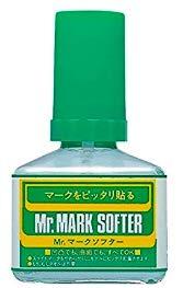 【 マークソフター 】 デカール 軟化剤 容量:40ml 仕上げ材 cmMS231/ デカールの救世主 Mr.ホビー …