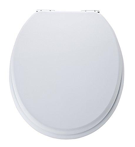 Eisl WC Sitz Spirit, Holzkern, mit Absenkautomatik, Weiß, ED09510SC