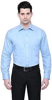 PROLIAN Men's Cotton with Khadi Casual Shirt for Men Full Sleeves