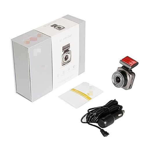 GCS Gcsheng Dash CAM Cámara de Leva de 2'Pulgadas Pantalla 1080FHD Grabadora de conducción G-Sensor Technology 200W Dash Dash Lop Loop Grabación (Color Name : Car DVR, SD Card Memory : 64G)