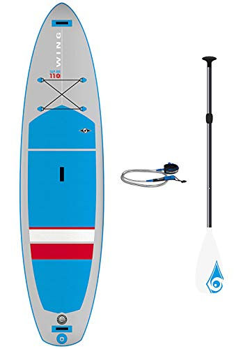 BIC 11'0' Wing Evo Inflatable SUP + Remo & Leash