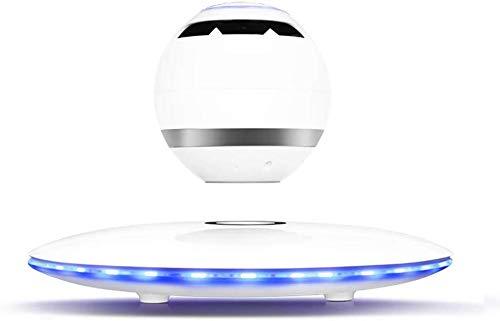 FEE-ZC Festival Dekoration Light Levitating Speaker, schwebender Lautsprecher mit Bluetooth 4.1, 360-Grad-Drehung, Touch Control Button und Buntem LED-Blinken