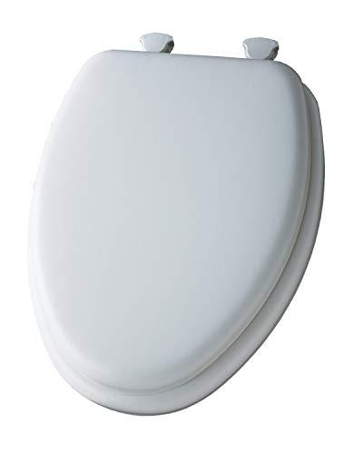 Bemis 113EC 000 Mayfair Elongated Padded Seat, White