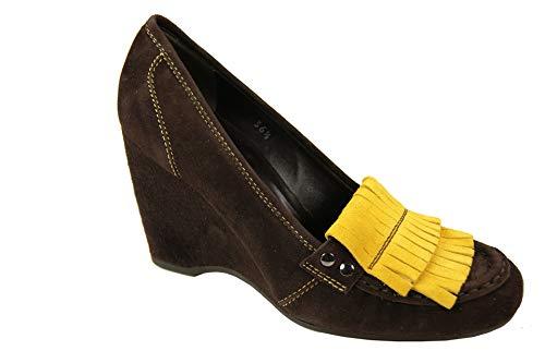Hogan Heels Pumps Gr. 36,5 EU Scarpe Wedges Keilabsatz Damen Schuhe