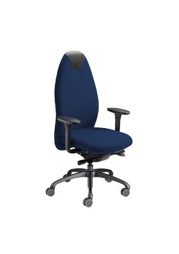 Löffler Bürodrehstuhl Tango 2451 d'blau