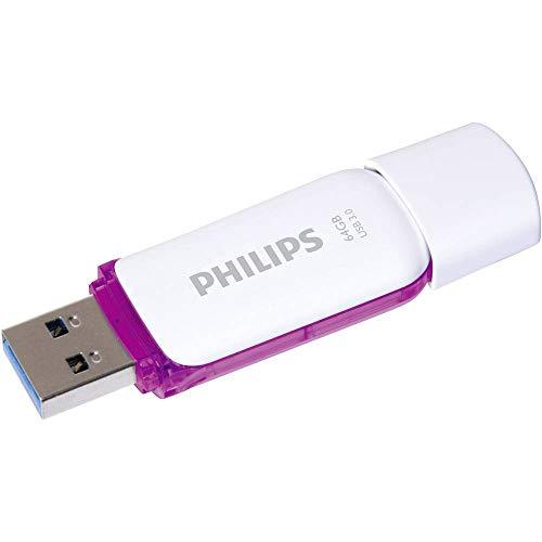 Philips SNOW 3.0 - Memoria USB de 64 GB