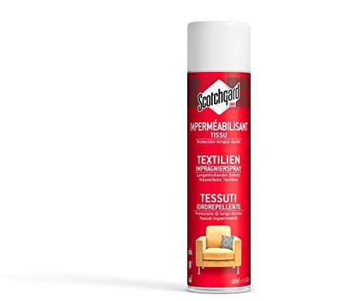 Scotchgard Protector Textilien Imprägnierspray – Textilpflege Spray, transparent - Imprägnierer mit Fleckenschutz in der Sprühdose, 1x 400 ml