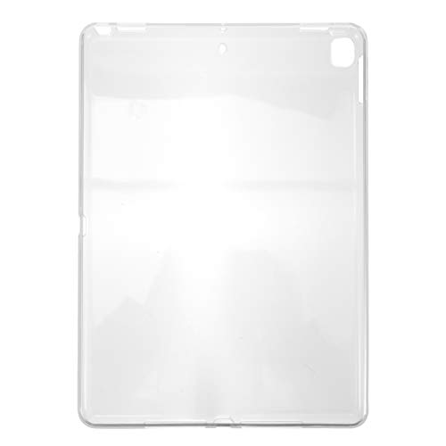 SOLUSTRE Case Cover for iPad 10.2 2019 2020 with Pencil Holder Silicone Clear Lightweight Shell Stand Cover for iPad 10.2 2019 2020 Protective Tablet Cover