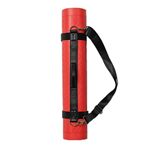 Yogi-Bare Arnés para Transportar Esterilla de Yoga - Ajustable para Todos LOS TAMAÑOS - Viaja con tu Esterilla de Yoga - Negro