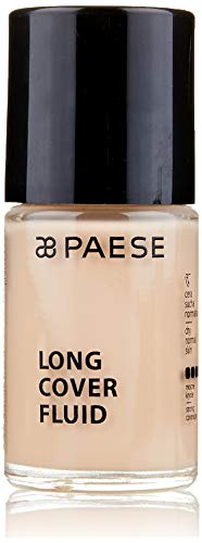 Paese Cosmetics Long cover Fluid Foundation, Shade numero 0130ml