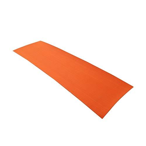 tabla de equilibrio Hoja de auto-adhesivo de EVA Barco yate marina Suelos imitación de imitación de teca Plataforma Pad 220x65cm 6 mm de espuma Piscina alfombra del piso navegar ( Color : Orange )