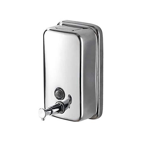 Distributeur de Savon Distributeur de Savon en Acier Inoxydable 500 ML Shampooing pour Les ménages (Taille : 500ml)