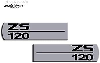 MG ZS 120LE500estilo plata & negro lateral indicador insignias MK1y MK2