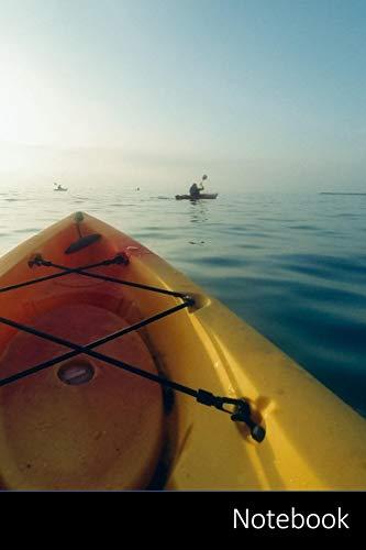 Notebook: Kayak, Aventura, Discover, Agua Cuaderno / Diario / Libro de escritura / Notas - 6 x 9 pulgadas (15.24 x 22.86 cm), 150 páginas, superficie brillante
