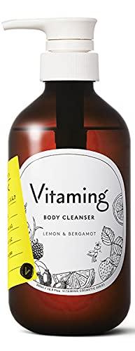 Vitaming バイタミング リフレッシング・ボディソープ 500ml レモン&ベルガモットの香り