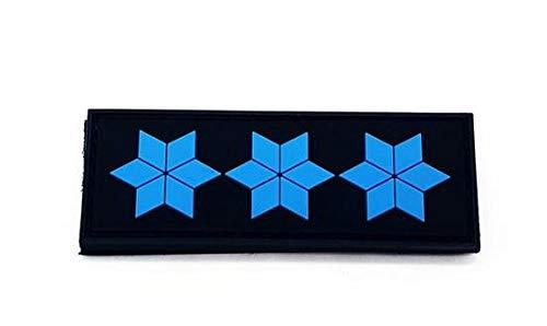 Dienstgrad Polizeiobermeister Rubber Patch