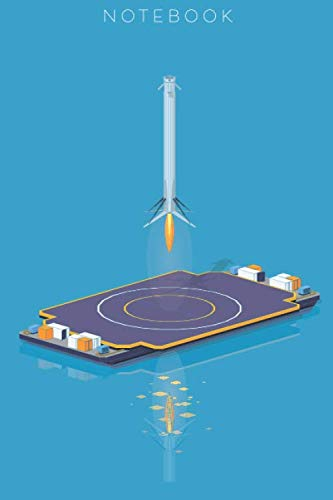 Notebook: Falcon Heavy Booster Landing SpaceX Notebook Journal