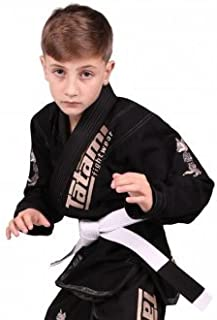 Kids Meerkatsu Animal Gi - Black - W/ Free Belt