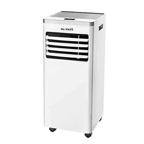 Mc Haus ARTIC-12 - Aire acondicionado portátil, 7000 BTU enfriador movil, sistema SILENTBLOCKS, clase A, 3 en 1: refrigerador, ventilador y deshumidificador, mando a distancia, para 20m²