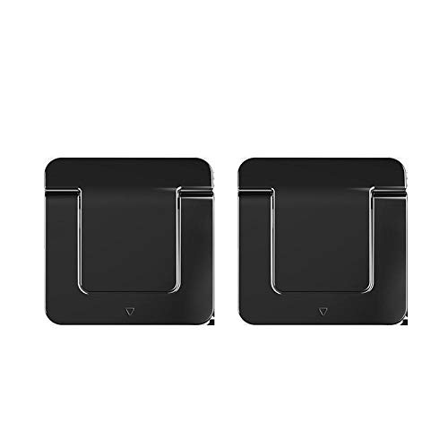 COOMOOC AdjustableLaptopStand,Universal Lightweight&Adjustable Ergonomic Tray Mount, Adjustable Notebook Riser Mount-Black