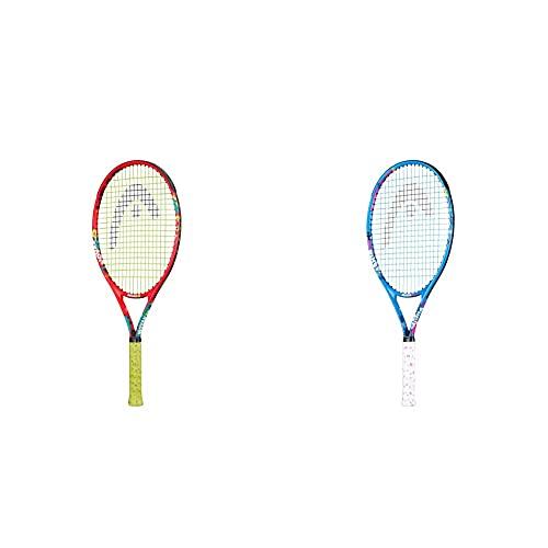 Head Novak 25 Raqueta de Tenis, Juventud Unisex, Multicolor, 8-10 años + Maria 25 Raqueta de Tenis, Juventud Unisex, Multicolor, 8-10 años