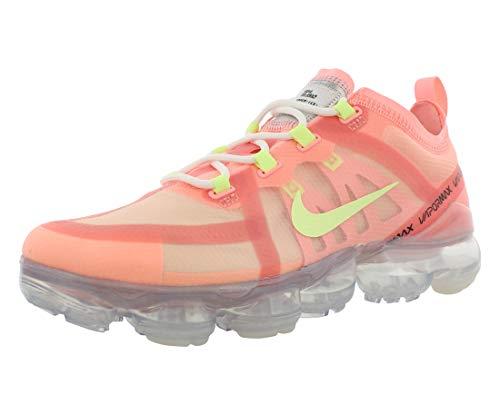 Nike Wmns Air Vapormax 2019, Zapatillas de Atletismo para Mujer, Multicolor (Pink Tint/Barely Volt/Light Cream 000), 38.5 EU