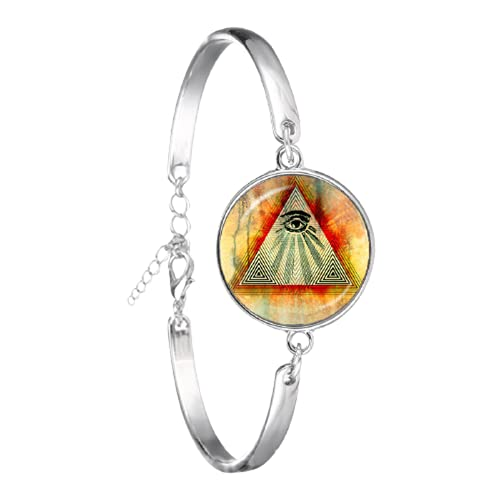 Pulsera de cúpula de cristal hecha a mano chapada en plata para regalo de recuerdo de mujer y niña